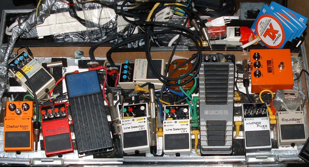 main pedal board