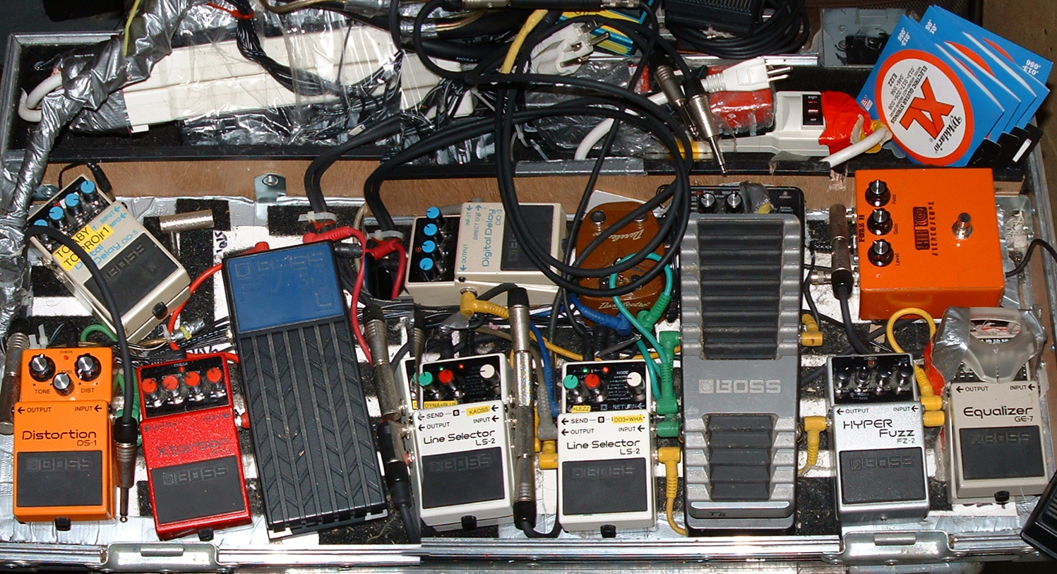 Ugliest Pedal Board Fx Discussions On Thefretboard Wiring A