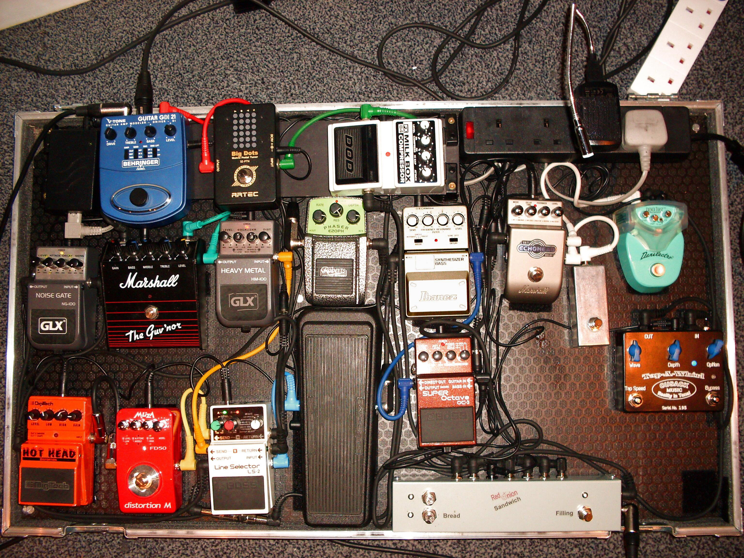 Pedal Line Friday 11 6 Vaughn Atkinson Effects Bay Wiring A Board Peds2