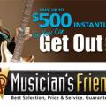 New Musician's Friend Coupon