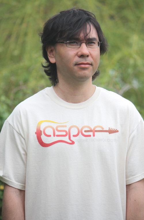 Free Shirt Wednesday - Casper Guitar Technologies