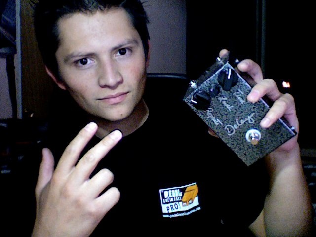 Marco - Pedal Enclosre Give Away Winner