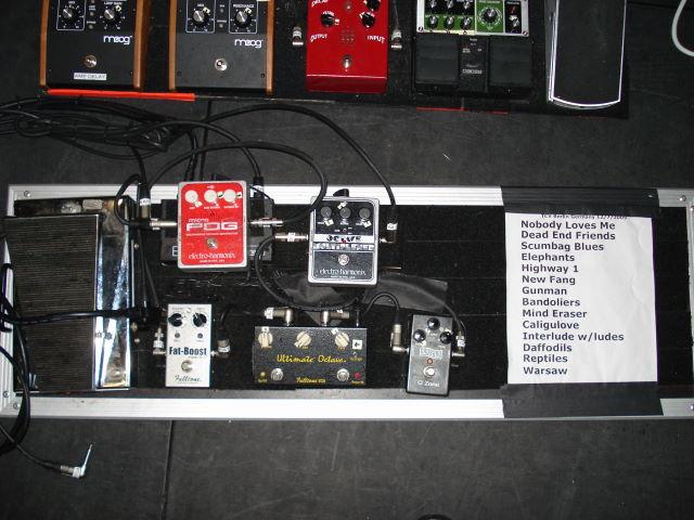 josh homme pedalboard 1