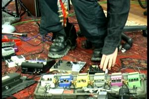 Robert Smith Pedal Board
