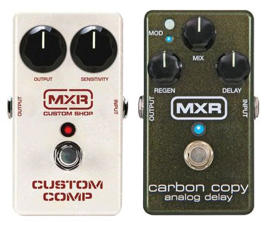 MXR Custom Comp / MXR Carbon Copy Delay