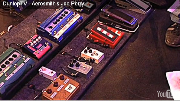 Joe Perry Pedalboard 08/14/2010