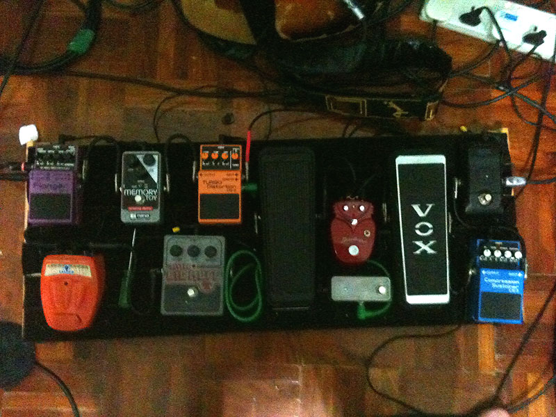 Pedal Line Friday - 8/27 - James Hume