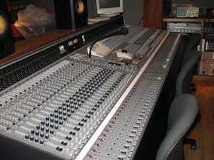 Electrical Audio Studio A Control Room