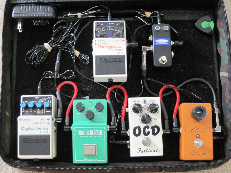 Pedal Line Friday - 9/17 - Shawn Palmer Secondary Board