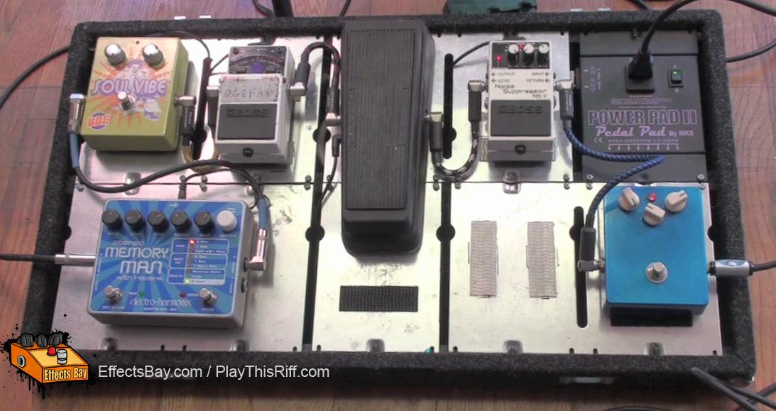bob balch s pedal board of fu manchu effects bay rh effectsbay com guitar pedalboard wiring how to wire a pedal board