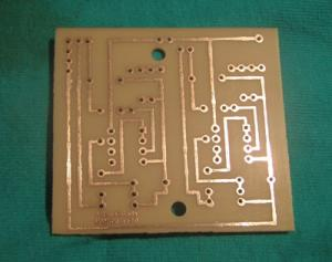 Drilled PCB