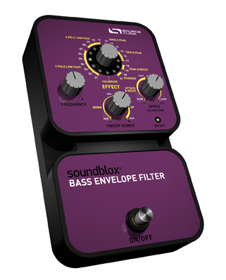 Source Audio's NEW Soundblox Bass Envelope Filter