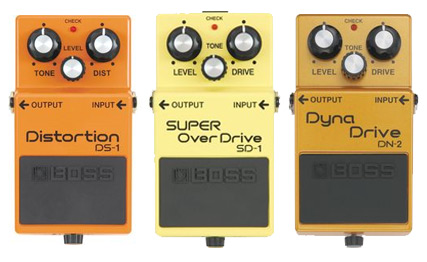 Boss sale at Musician's Friend - 3 Boss Pedals below $70