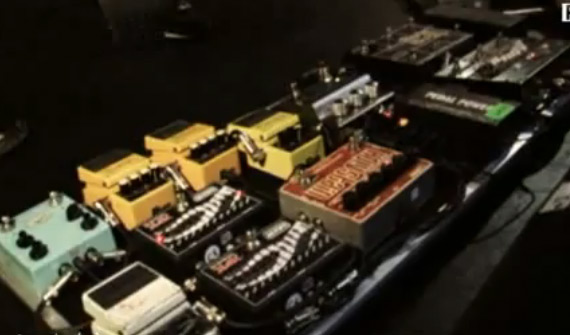 Mogwai John Cummings Pedal Board 1