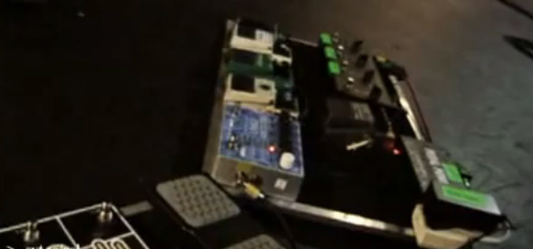 Mogwai John Cummings Pedal Board 2