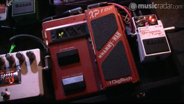 Oceansize - Mike Vennart - Pedal Board