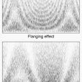 Spectrograms of the Flanging and Phasing effects.
