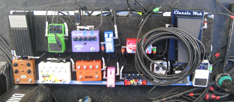 MGMT pedalboard