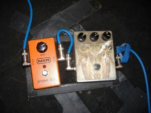 Sonic Youth's Thurston Moore Pedalboard 1