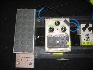 Sonic Youth's Thurston Moore Pedalboard 2