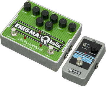 Electro-Harmonix Enigma QBalls Envelop Filter and Electro-Harmonix Holy Grail Nano Reverb