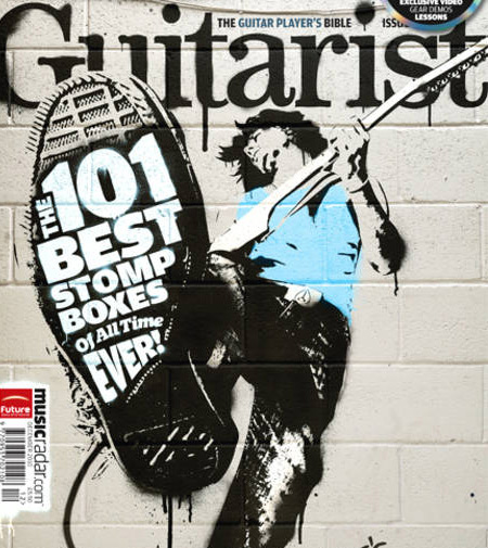 Guitarist Magazine - 101 Best Stomp Boxes of All Time