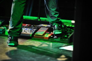 Pearl Jam - Mike McCready - Pedal Board 2