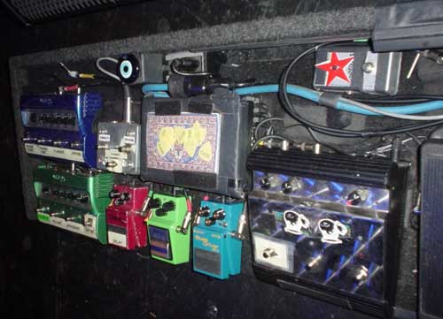 Pearl Jam - Mike McCready - Pedal Board