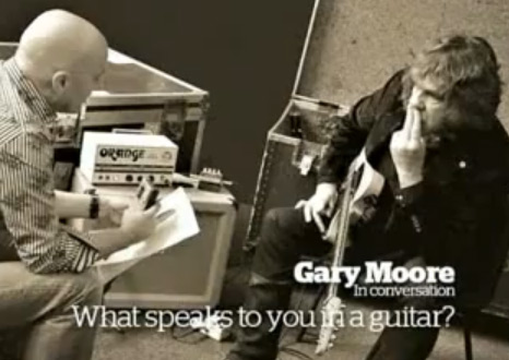 Gary Moore Blues Lesson