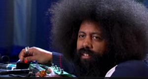 Reggie Watts on Conan