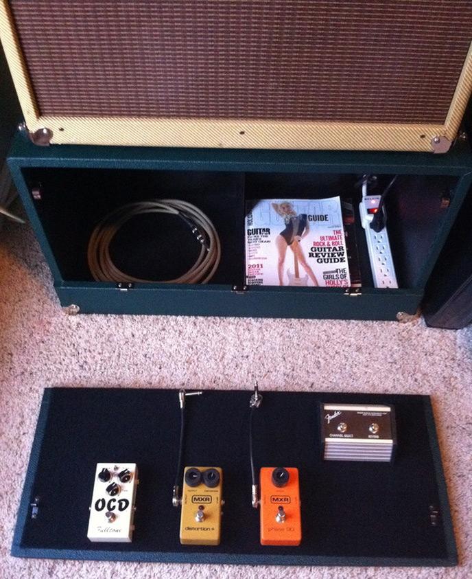 Introducing Rock Cr8 - The Guitar Pedal Organizer