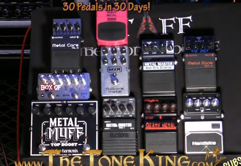 Ultimate Metal Pedal Shoot Out - Tone King