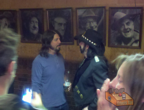Dave Grohl and Lemmy of Motorhead