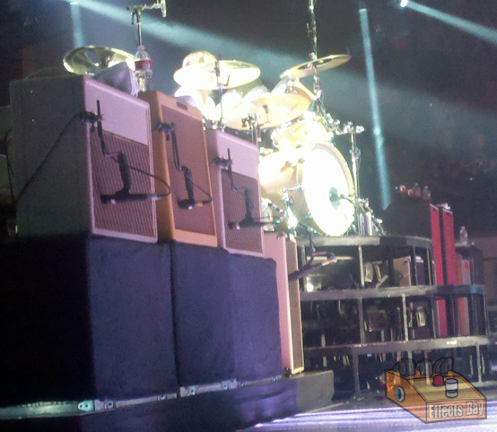 Foo Fighters Chris Shiflett Amps