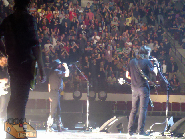 Lemmy of Motorhead with Foo Fighters