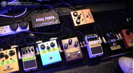 John Cummings Pedal Board