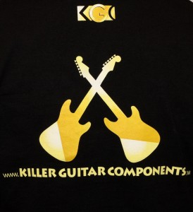 Free Shirt Wednesday - 6/22 - Killer Guitar Components