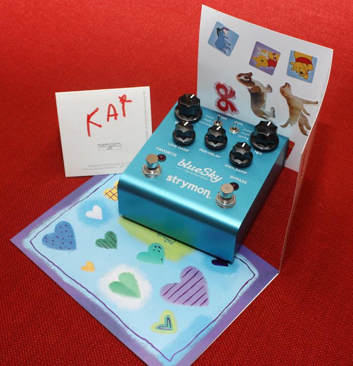 Happy Father's Day - Strymon BlueSky Reverberator!