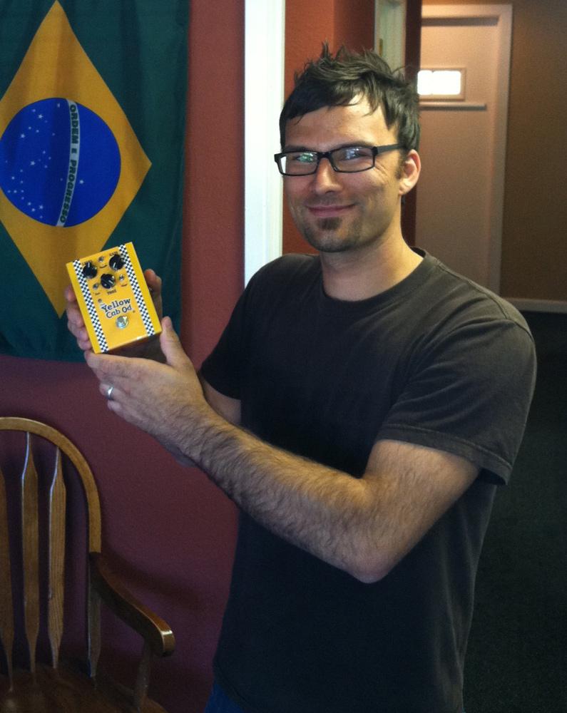 Favoretti Yellow Cab Overdrive Winner - James Gerber