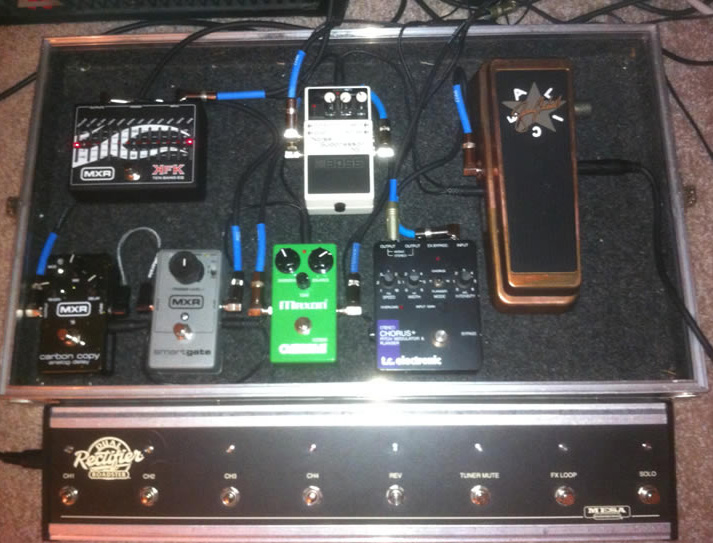 Pedal Line Friday - 7/22 - Eric J. Lovett