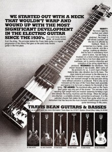 Travis Bean Ad