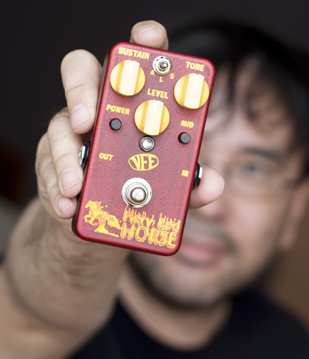 VFE Fiery Red Horse Fuzz Give Away!