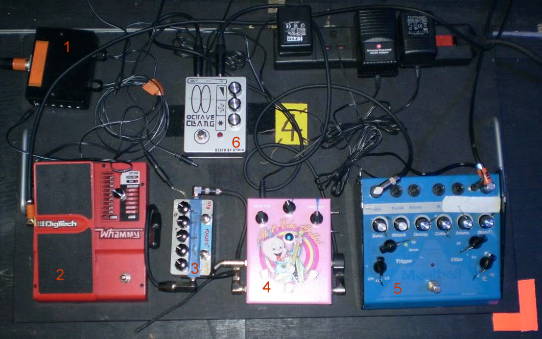 Kevin Shields - My Bloody Valentine - Secondary Board