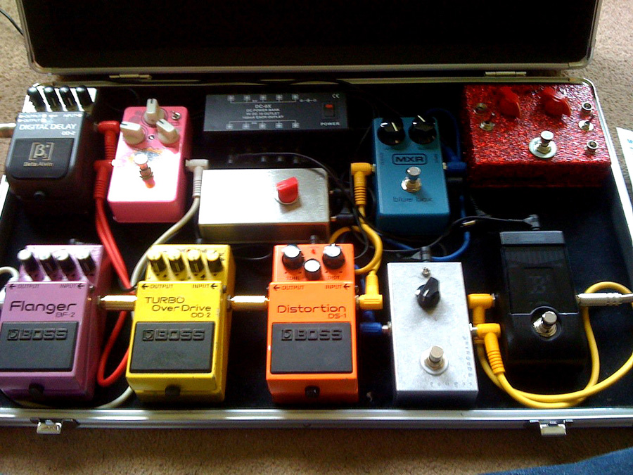 Pedal Line Friday - 8/12 - Daniel Cross