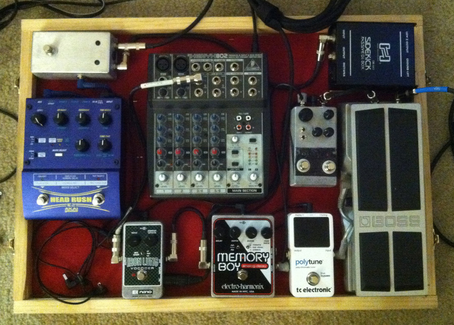 Pedal Line Friday - 8/4 - Abi Robins