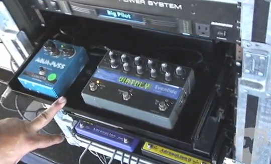 John Mayer Pedal Line Breakdown - Rack 1
