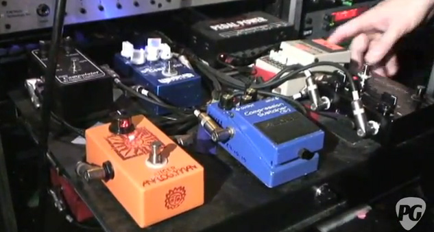 Keith Urban - Pedal Tray 1