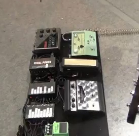 Mike Einziger - Incubus - Pedal Board 4