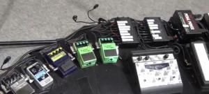 Mike Einziger - Incubus - Pedal Board 3