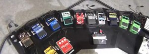 Mike Einziger - Incubus - Pedal Board 2